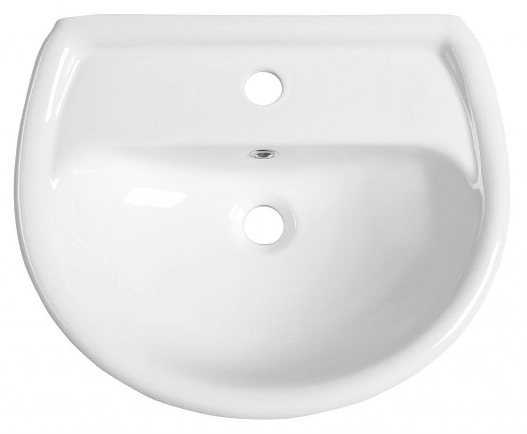 AQUALINE - Keramické umývadlo 50x40cm (20501)