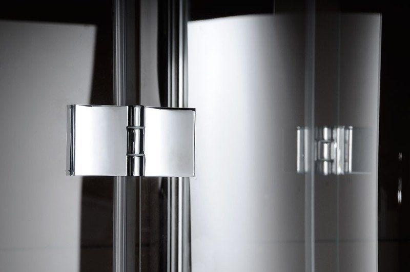 GELCO - LEGRO štvrťkruhová sprchová zástena 900x900mm, číre sklo (GL6590)