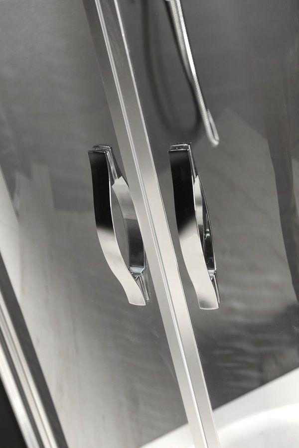 GELCO - ONE štvrťkruhová sprchová zástena 900x900 mm, číre sklo (GO5890)