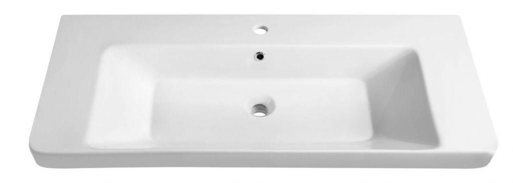 SAPHO - THALIE 105 keramické umývadlo 105x46 cm , nábytkové (TH11105)