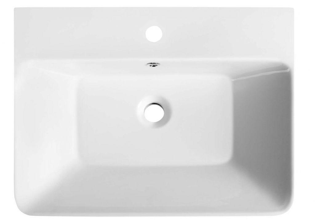 SAPHO - THALIE 60 keramické umývadlo 60x46 cm , nábytkové (TH11060)