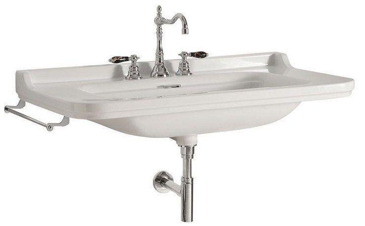 KERASAN - WALDORF keramické umývadlo 80x55cm (4141K1)