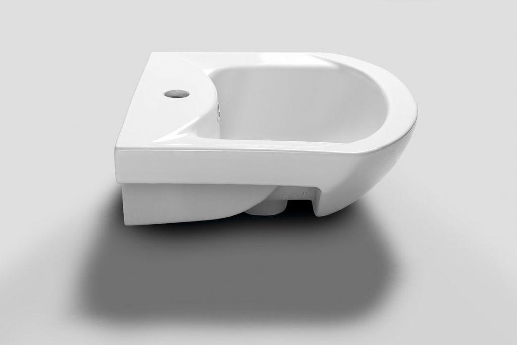 AQUALINE - ZERO nábytkové umývadlo 45,5x40cm (6045)