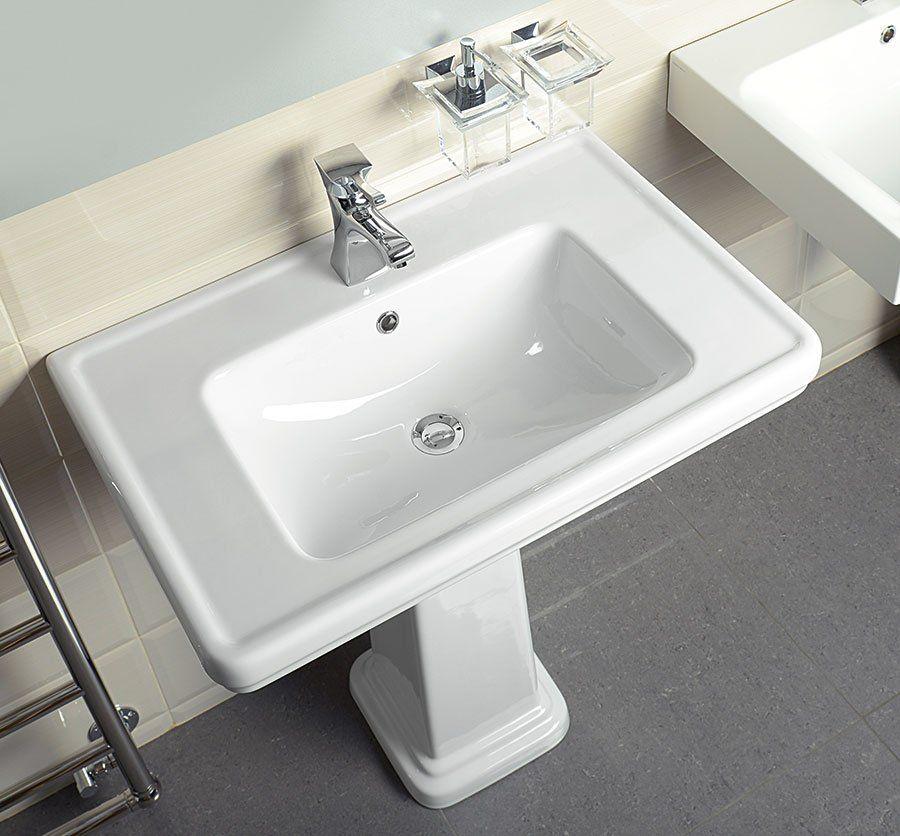 GSI - CLASSIC keramické umývadlo 60x46 cm, biela ExtraGlaze (8731111)