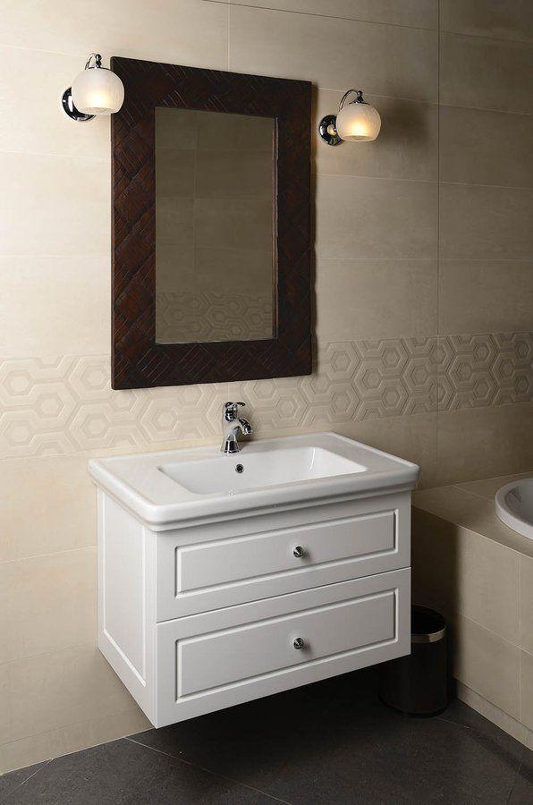 GSI - CLASSIC keramické umývadlo 90x50 cm, biela ExtraGlaze (8788111)