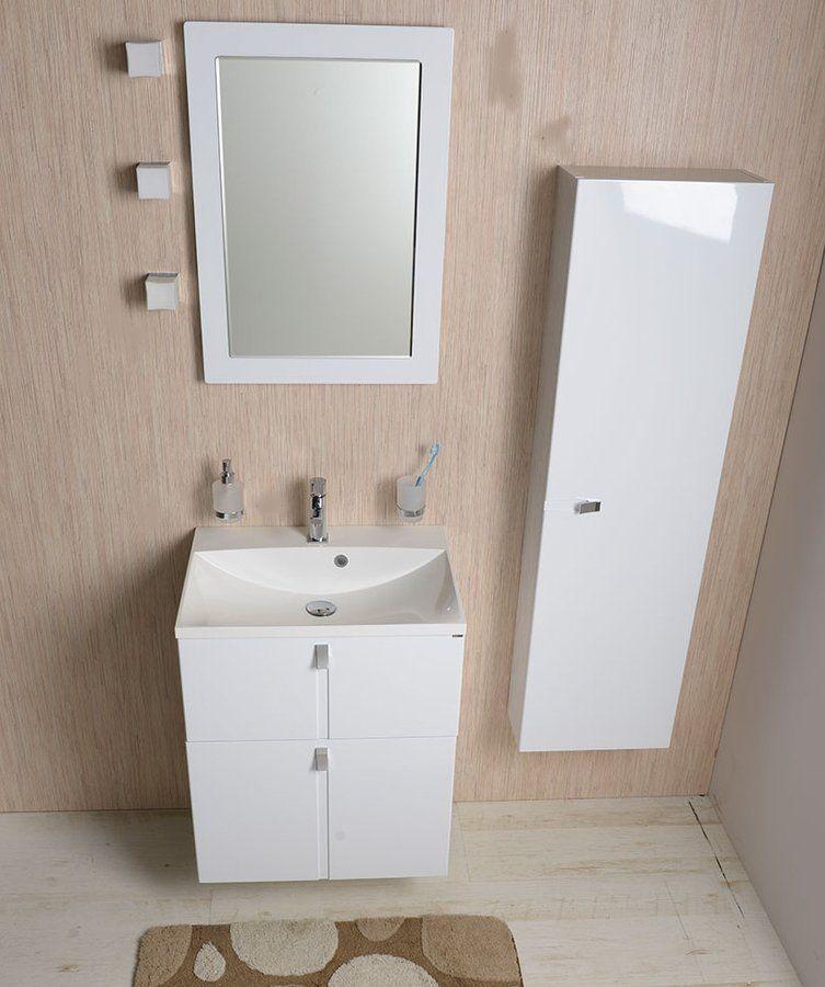 SAPHO - MARIA umývadlo 60x46cm, liaty mramor, biela (MA060)