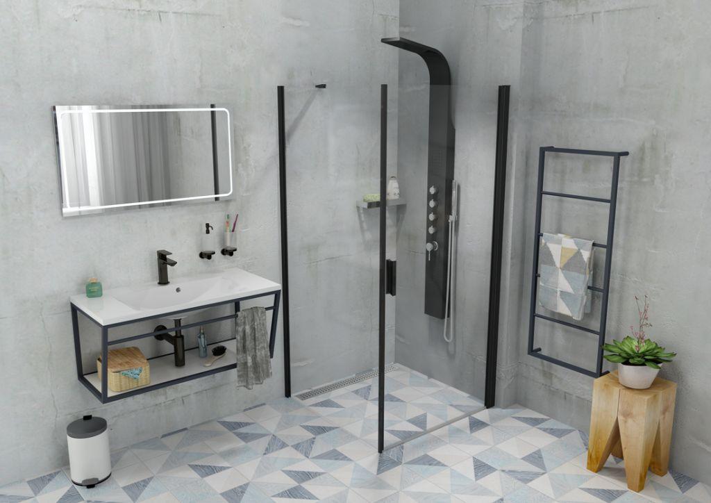 SAPHO - MARIA umývadlo 90x46cm, liaty mramor, biela (MA090)
