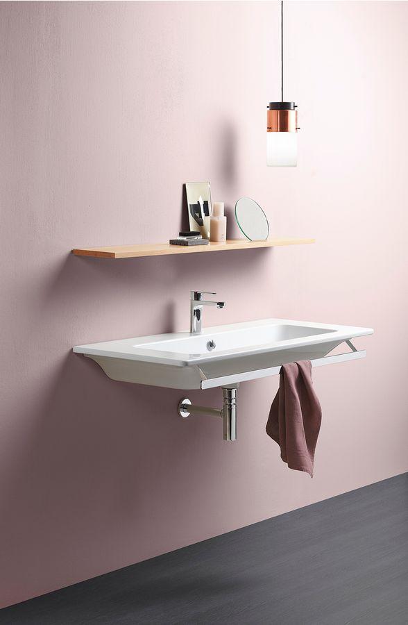 GSI - PURA keramické umývadlo 120x50 cm, biela ExtraGlaze (8824111)