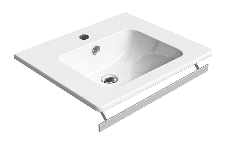 GSI - PURA keramické umývadlo 60x50 cm, biela ExtraGlaze (8831111)