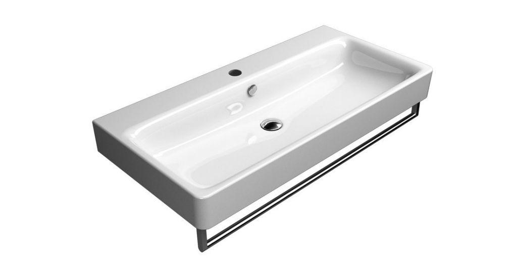 GSI - SAND keramické umývadlo 100x50 cm, biela ExtraGlaze (9023111)