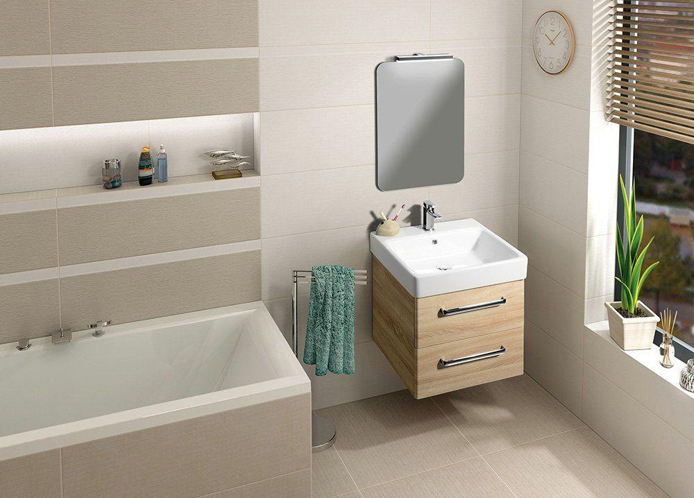 GSI - SAND keramické umývadlo 60x50 cm, biela ExtraGlaze (9031111)
