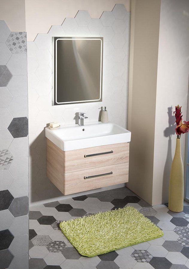 GSI - SAND keramické umývadlo 80x50 cm, biela ExtraGlaze (9022111)