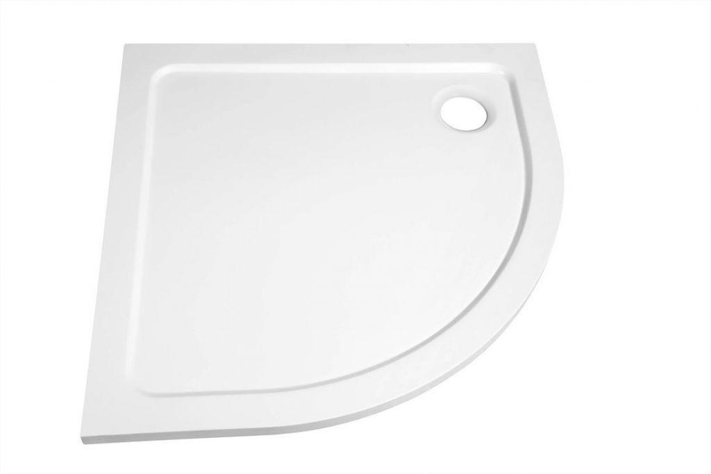 GELCO - AKCE štvrťkruhová sprchová zástena 900x900x1900mm, sklo BRICK (AG4295)