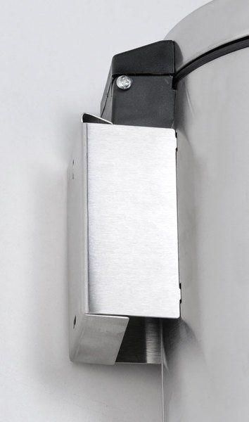 SAPHO - Odpadkový koš závesný 3l, brúsená nerez (XP017)