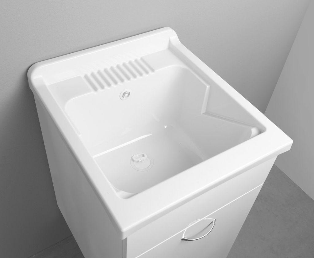 AQUALINE - Závesná výlevka 45x50cm, plast, biela (PI4550)
