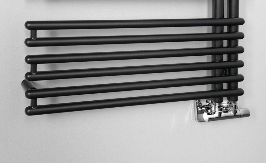 AQUALINE - TUBINI vykurovacie teleso 596x1454mm, antracit (DC325T)