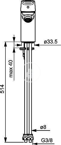 HANSA - Polo Páková umývadlová batéria, chróm (51531193)