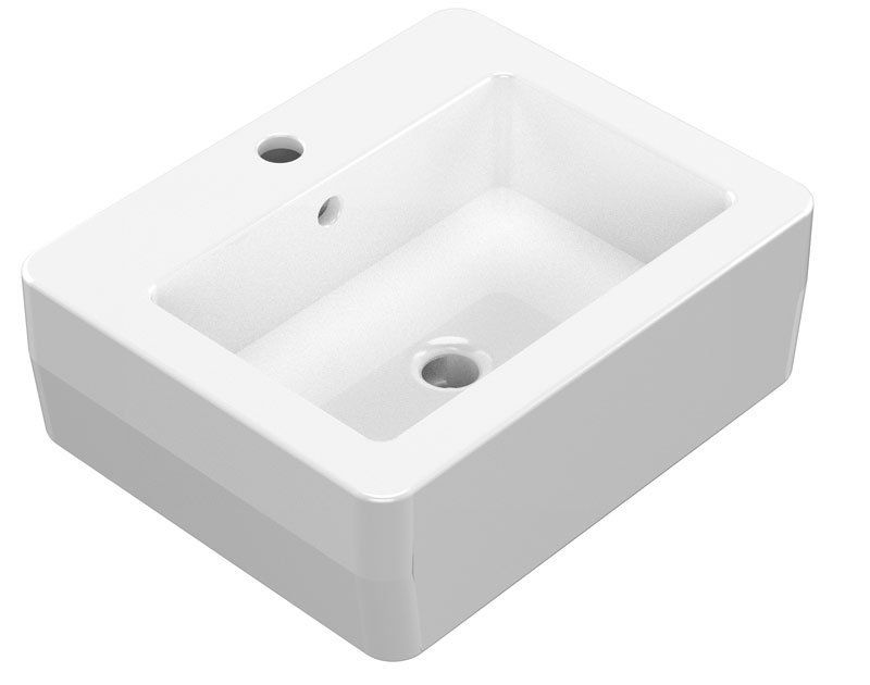 KERASAN - EGO keramické umývadlo 50x40cm 324101