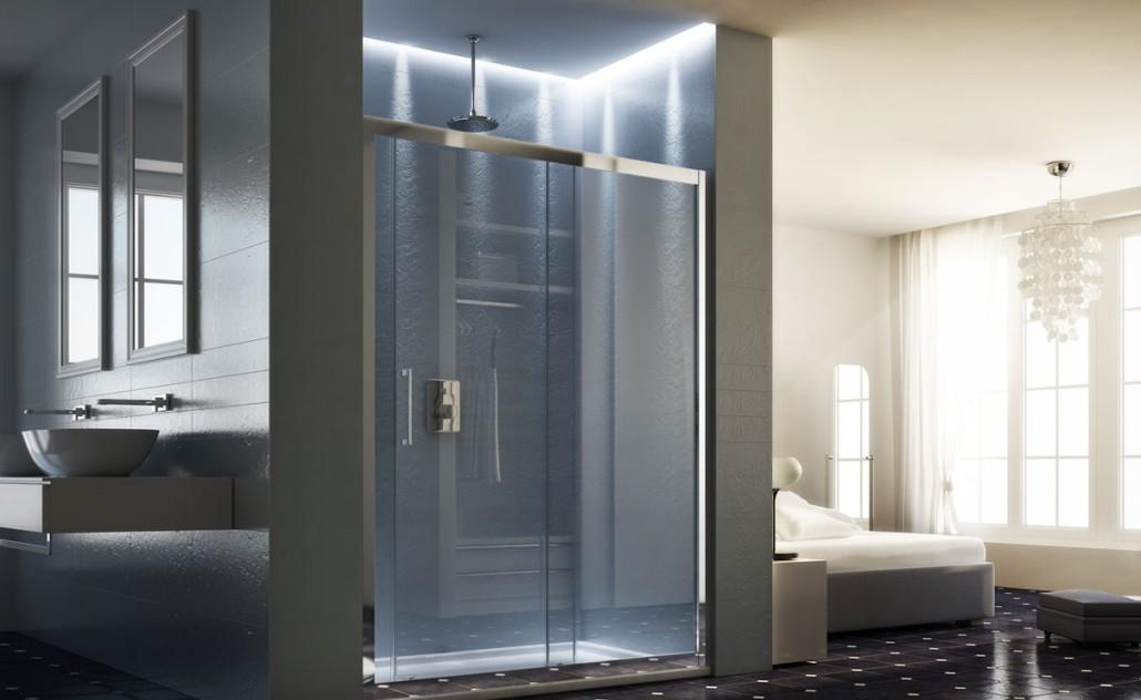 Sprchové dvere HOPA MAYA - Farba rámu zásteny - Hliník leštený, Rozmer A - 145 cm, Smer zatváranie - Univerzálny Ľavé / Pravé, Výplň - Číre bezpečnostné sklo - 6 mm BLMA105CC