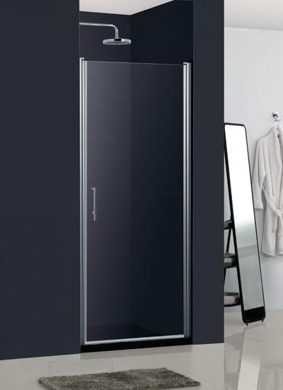 Sprchové dvere HOPA MADEIRA II - Frost sklo - Farba rámu zásteny - Hliník chróm, Rozmer A - 80 cm, Smer zatváranie - Ľavé (SX), Výplň - Frost bezpečnostné sklo - 6 mm BCMADE280CFL