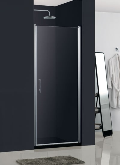 Sprchové dvere HOPA MADEIRA II - Frost sklo - Farba rámu zásteny - Hliník chróm, Rozmer A - 80 cm, Smer zatváranie - Pravé (DX), Výplň - Frost bezpečnostné sklo - 6 mm BCMADE280CFP
