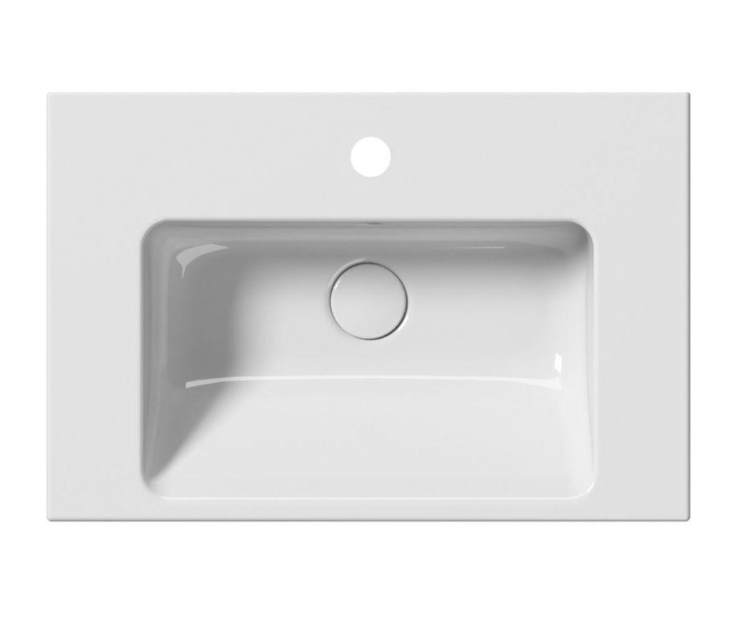 GSI - NORM keramické umývadlo 60x18x40 cm, biela ExtraGlaze (8636111)