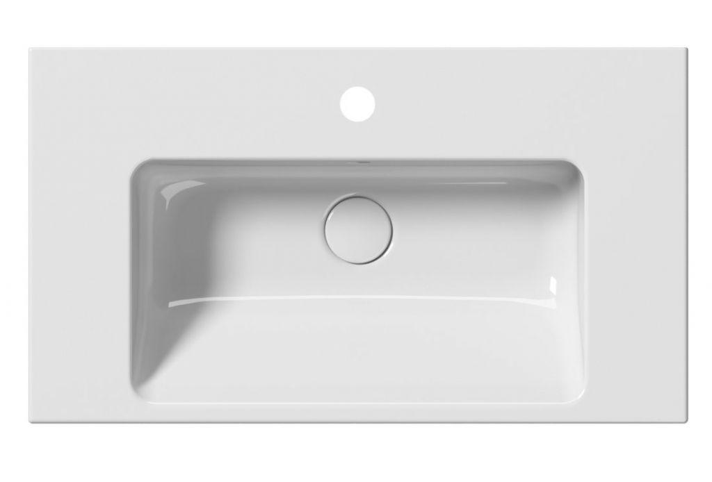 GSI - NORM keramické umývadlo 70x18x40 cm, biela ExtraGlaze (8637111)