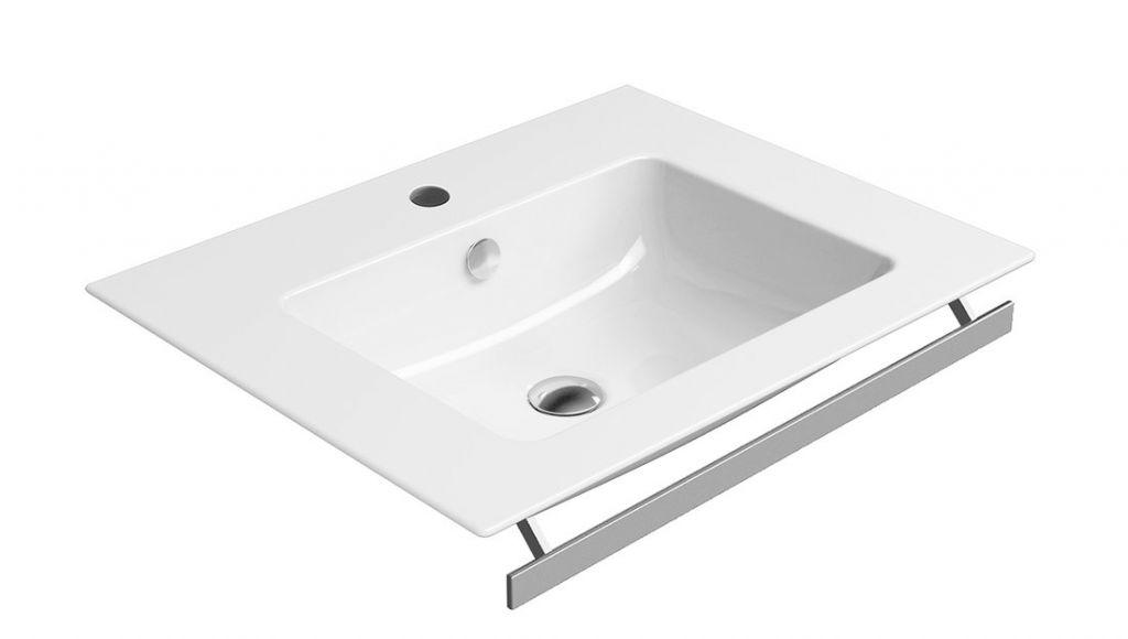 GSI - PURA keramické umývadlo slim 60x50 cm, biela ExtraGlaze (8836111)