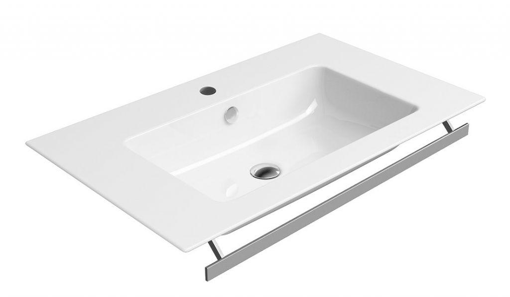 GSI - PURA keramické umývadlo slim 80x50 cm, biela ExtraGlaze (8843111)