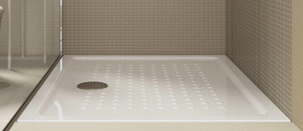 GSI - Keramická sprchová vanička, obdĺžnik 100x80x4,5 cm (438511)