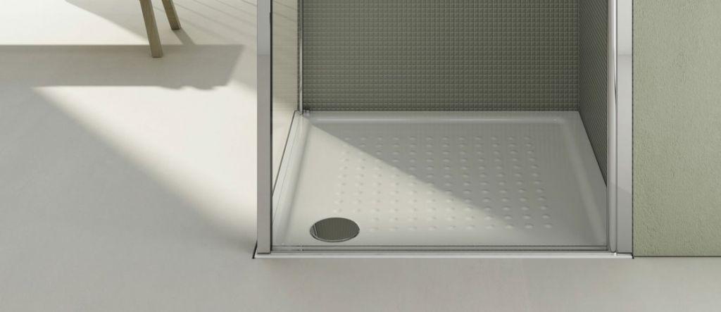 GSI - Keramická sprchová vanička, štvorec 80x80x4,5 cm (438411)
