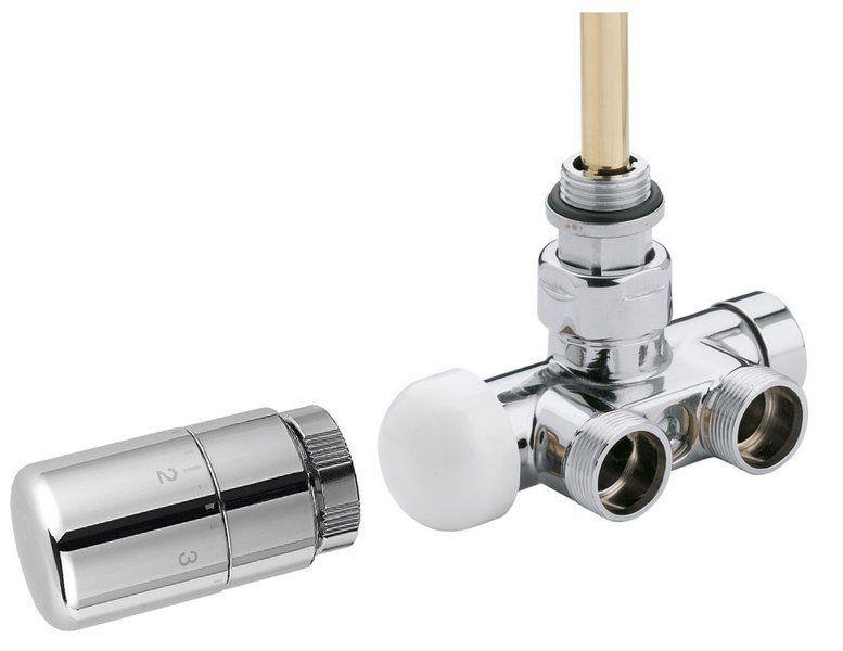 SAPHO - MONO ONE pripojovacia sada ventilov termostatická jednobodová, chróm CP2050