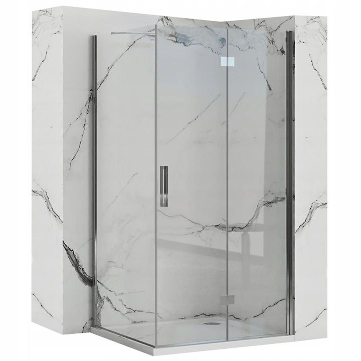 REA/S - Sprchovací kút Moliere dvere / stena 80x100 MOLDS080100