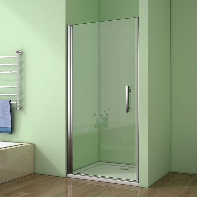 H K - Sprchové dvere MELODY D1 80 jednokrídlové dvere 79-82 x 195 cm, sklo GRAPE, ľavá varianta SE- MELODYD180GRAPESET