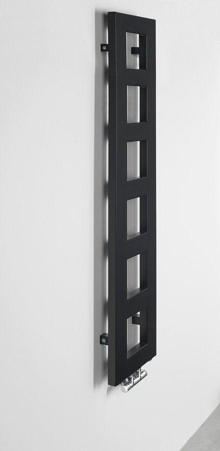 SAPHO - BLOCK vykurovacie teleso 280x1330 mm, čierna matná (IR181)