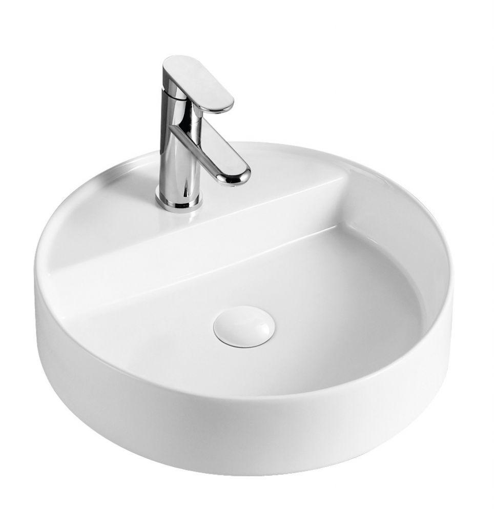 HOPA - Umývadlo na dosku PIEGO - Rozmer A - 45 cm, Rozmer C - 11 cm OLKLT3220