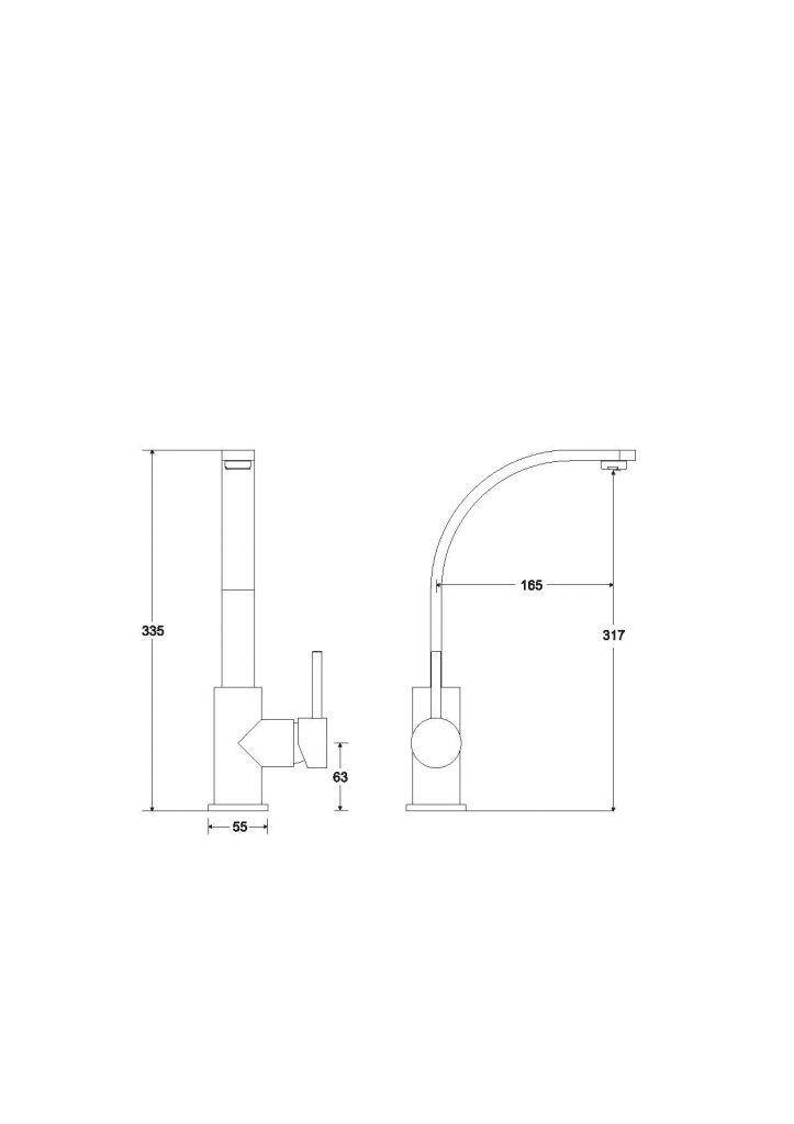 HOPA - Vysoká stojanová umývadlová batéria Decca I - Farebnica - Chróm duplicít (BABUDICH)