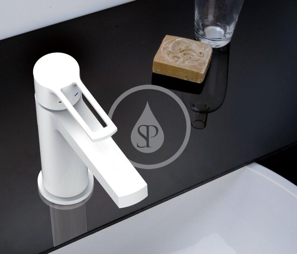 PAFFONI - Ringo West Umývadlová batéria, matná biela (RIN071BO) 2. jakost
