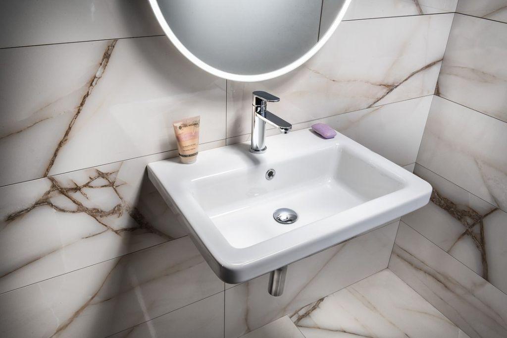 SAPHO - CITY keramické umývadlo hranaté 60x18x45cm (KE060)