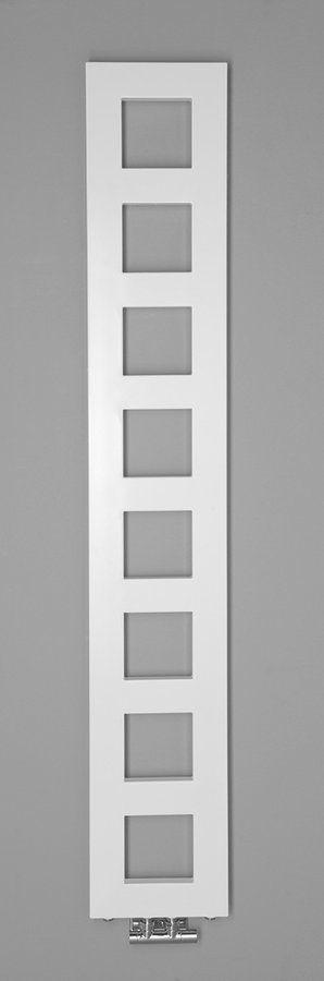 SAPHO - BLOCK vykurovacie teleso 280x1750 mm, biela matná (IR184)