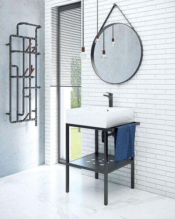 A-Interiéry - Kúpeľňový set Trutnov S6U5 (56x50x84 cm) (trutnov_s6u5)