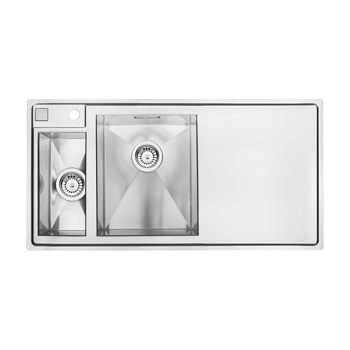 A-Interiéry A-Interiéry - Kuchynský nerezový drez Šanghaji 051P (100x50 cm) Šanghaji 051p