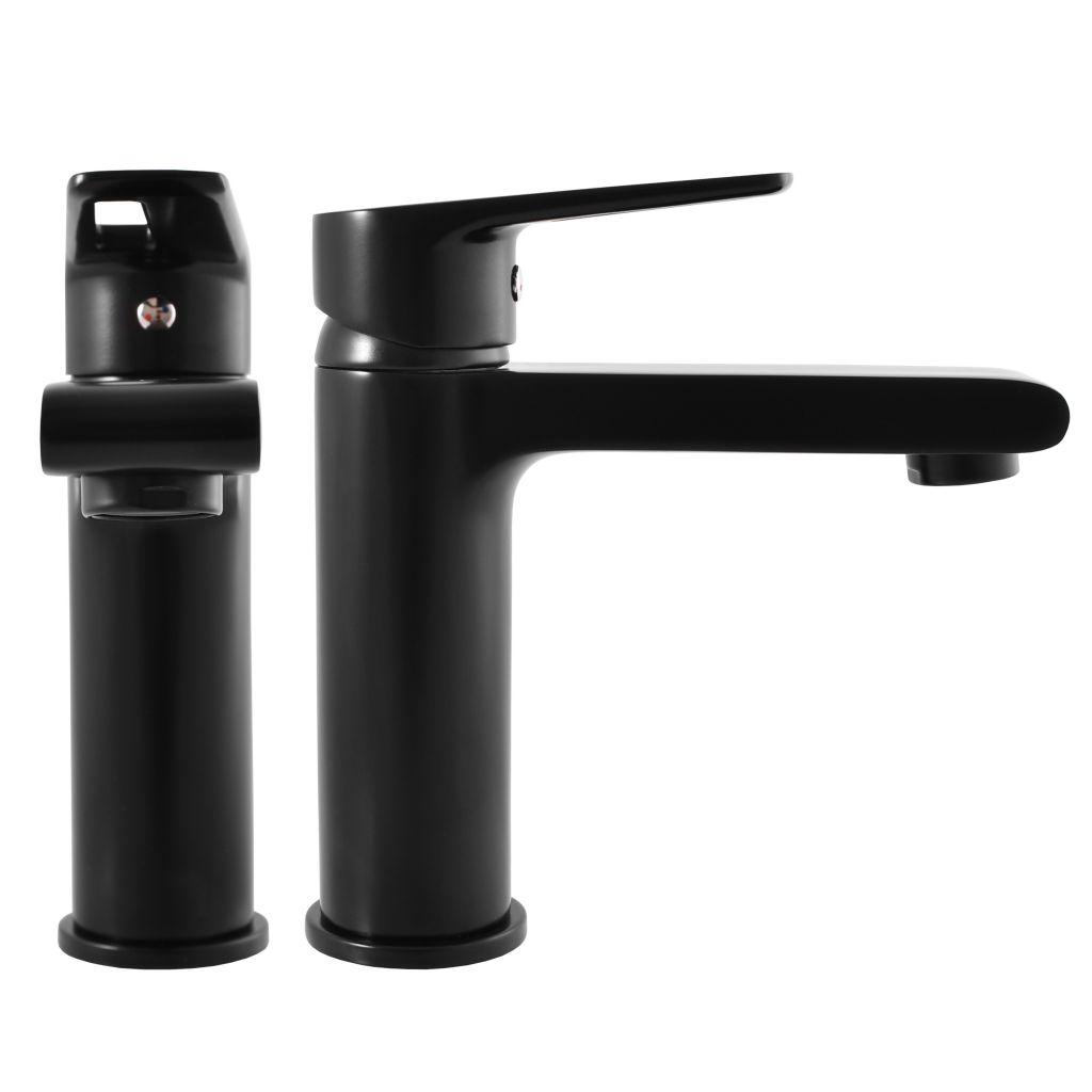 SLEZAK-RAV - Vodovodné batérie umývadlová COLORADO čierna matná, Farba: čierna matná, Rozmer: 1/2 '' (CO228.5CMAT)