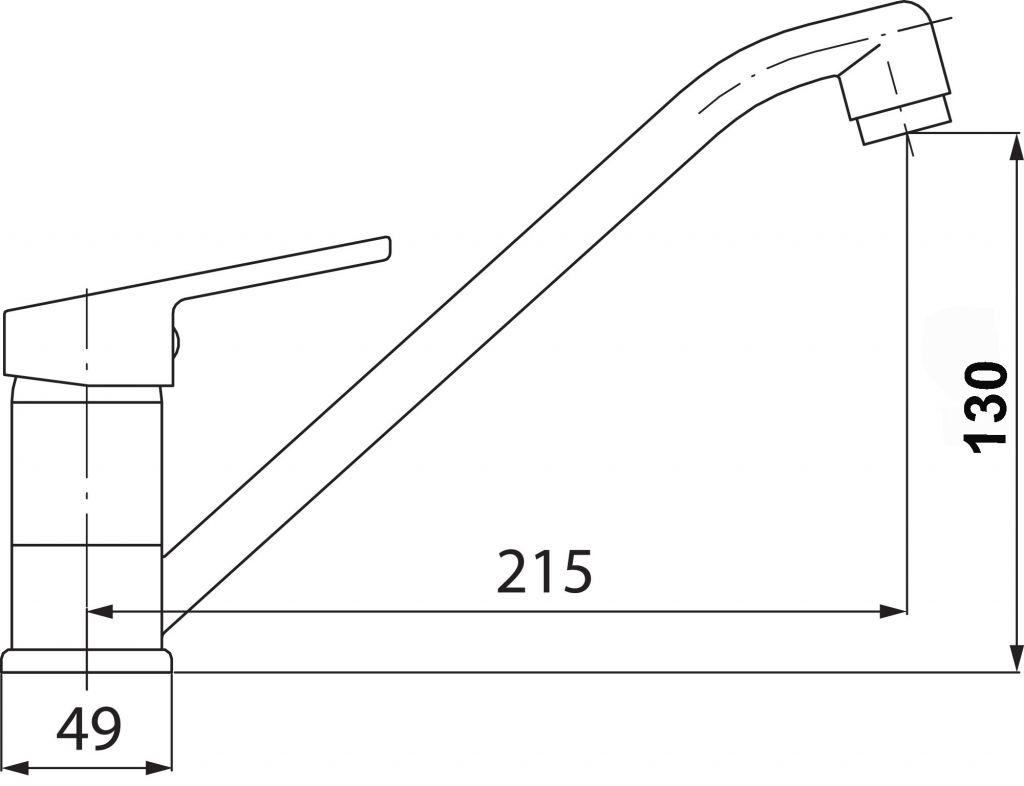 NOVASERVIS - Drezová batéria SMILE chróm (71091,0)