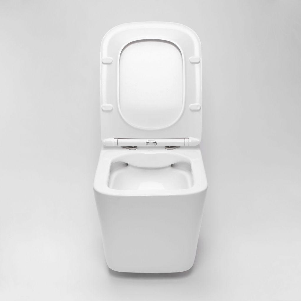 ALCAPLAST Sádromodul - predstenový inštalačný systém bez tlačidla + WC REA Raul Rimless + SEDADLO (AM101/1120 X RA1)