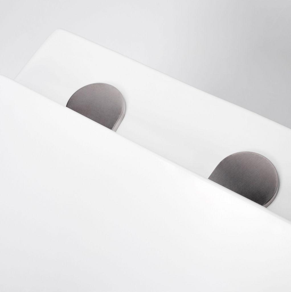 ALCAPLAST  Jádromodul - predstenový inštalačný systém bez tlačidla + WC REA Raul Rimless + SEDADLO (AM102/1120 X RA1)