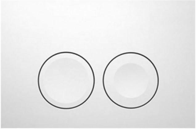 GEBERIT KOMBIFIXBasic vr. bieleho  tlačidla DELTA 21 + WC REA CARLO MINI RIMLESS ČIERNY MAT + SEDADLO (110.100.00.1 21BI MM1)