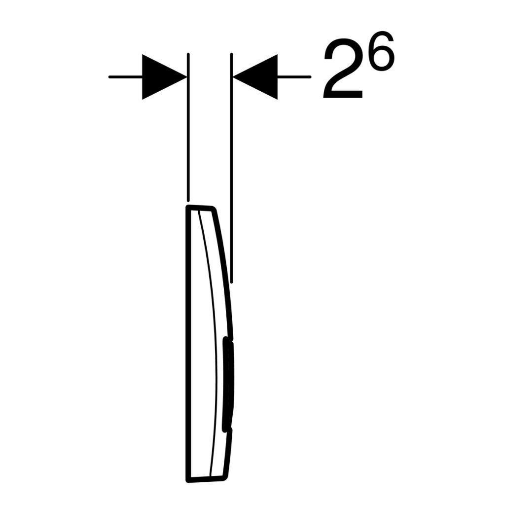 GEBERIT KOMBIFIXBasic vr. chrómového tlačidla DELTA 51 + WC REA CARLO MINI RIMLESS ČIERNY MAT + SEDADLO (110.100.00.1 51CR MM1)