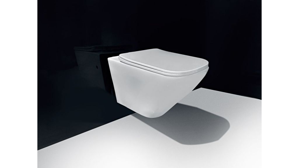 GEBERIT KOMBIFIXBasic vr. bieleho  tlačidla DELTA 21 + WC REA Ivo Rimless + SEDADLO (110.100.00.1 21BI IV1)