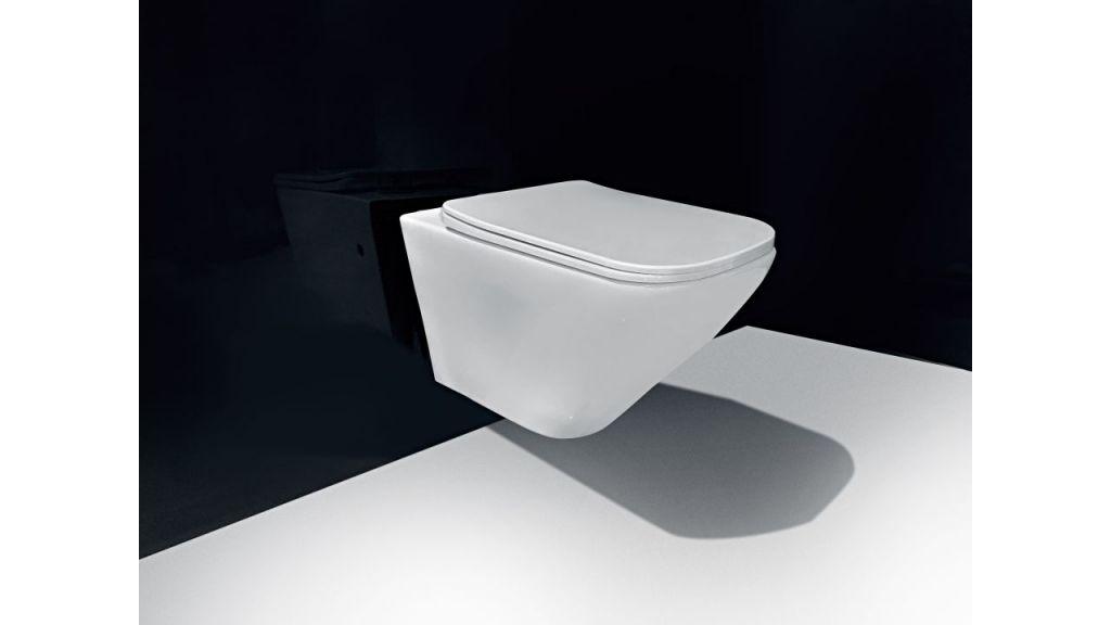 LAUFEN Podomít. systém LIS TW1 SET s bielym tlačidlom + WC REA Ivo Rimless + SEDADLO (H8946630000001BI IV1)